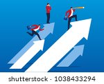 concept business team... | Shutterstock .eps vector #1038433294