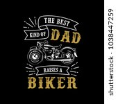 father's day saying   quotes.... | Shutterstock .eps vector #1038447259