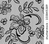 old lace background  ornamental ... | Shutterstock .eps vector #103845389
