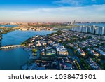 amazing view to suzhou city...   Shutterstock . vector #1038471901