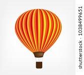 air balloon icon   Shutterstock .eps vector #1038499651