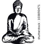 buddha   Shutterstock .eps vector #103850471