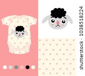 vector fashion design set for... | Shutterstock .eps vector #1038518224