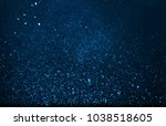 abstract gorgeous bright blue... | Shutterstock . vector #1038518605