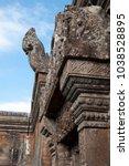 dangrek mountains cambodia ... | Shutterstock . vector #1038528895