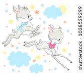 animal illustration cute little ...   Shutterstock .eps vector #1038539299