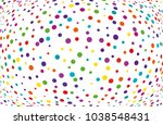 festival pattern with color... | Shutterstock .eps vector #1038548431