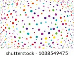 festival pattern with color... | Shutterstock .eps vector #1038549475