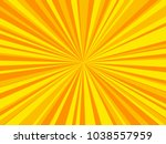 bright sunbeams background with ... | Shutterstock .eps vector #1038557959