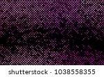 dark purple vector polygonal... | Shutterstock .eps vector #1038558355