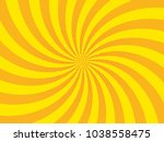 bright spiral sunbeams with... | Shutterstock .eps vector #1038558475