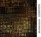 Art Glass Texture Golden...
