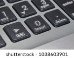numeric lock keyboard buttons | Shutterstock . vector #1038603901