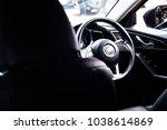 car black supercar | Shutterstock . vector #1038614869