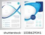 template vector design for... | Shutterstock .eps vector #1038629341