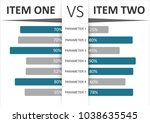 product   service comparison... | Shutterstock .eps vector #1038635545