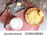 ingredients for pasta dish or...   Shutterstock . vector #1038638884