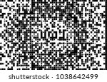 black and white abstract vector ... | Shutterstock .eps vector #1038642499