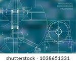 engineering backgrounds.... | Shutterstock .eps vector #1038651331