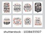 vector set of  greetings card...
