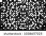 black and white abstract vector ... | Shutterstock .eps vector #1038657325