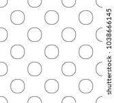 seamless geometric ornamental... | Shutterstock .eps vector #1038666145