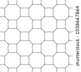 seamless geometric ornamental... | Shutterstock .eps vector #1038667864