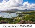 english harbour is a natural... | Shutterstock . vector #1038669961