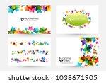 creative kids design collection....   Shutterstock .eps vector #1038671905