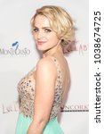 "Small photo of Reine Swart attends Uncorkd Entertainment ""The Lullaby"" Los Angeles Premiere at Laemmles Ahrya Fine Arts Theatre, Beverly Hills, CA on March 1, 2018"