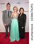 "Small photo of Xander Swart, Reine Swart, Reine Malan attend Uncorkd Entertainment ""The Lullaby"" Los Angeles Premiere at Laemmles Ahrya Fine Arts Theatre, Beverly Hills, CA on March 1, 2018"