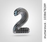 bdsm number 2. 3d rendering... | Shutterstock . vector #1038678289