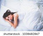 Beautiful Girl Sleeps In The...
