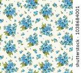 elegance seamless pattern for... | Shutterstock . vector #1038684001