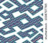 vector seamless pattern....   Shutterstock .eps vector #1038707785