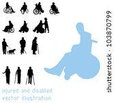 negro,ciego,cuerpo,chico,perro,niño,colección,contorno,multitud,muleta,desactivado,perro,elemento,hembra,figura