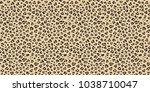 Leopard Seamless Vector Patter...