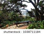 harbour bridge view from wendy... | Shutterstock . vector #1038711184