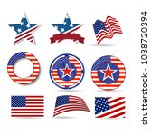 united states of america... | Shutterstock .eps vector #1038720394