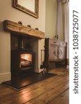 Wood Burning Stove Fireplace...