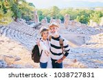 tourism and technology.... | Shutterstock . vector #1038727831