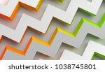 abstract 3d rendering of... | Shutterstock . vector #1038745801