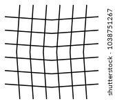 wavy  zig zag  criss cross grid ... | Shutterstock .eps vector #1038751267