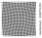 wavy  zig zag  criss cross grid ...   Shutterstock .eps vector #1038751294