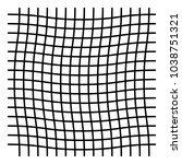 wavy  zig zag  criss cross grid ... | Shutterstock .eps vector #1038751321