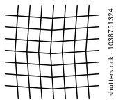 wavy  zig zag  criss cross grid ...   Shutterstock .eps vector #1038751324