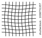 wavy  zig zag  criss cross grid ...   Shutterstock .eps vector #1038751357
