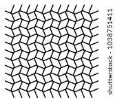 wavy  zig zag  criss cross grid ... | Shutterstock .eps vector #1038751411