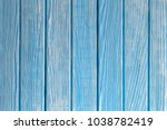 natural blue turquoise wooden...   Shutterstock . vector #1038782419