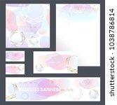 corporate identity templates... | Shutterstock .eps vector #1038786814